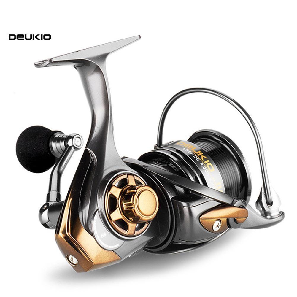 DEUKIO HS2000 HS3000 HS5000 5+1BB High Speed 7.1:1 Fishing Reel Bait Casting Reel Right Left Hand Bait Casting Reel