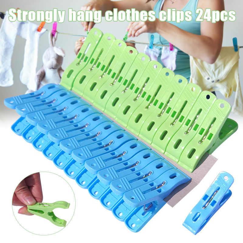 Cesta De Pl/ástico Secado Ropa Clips Calcetines Pantalones Camisa Clavijas Hogares Necesidades Diarias Pr/ácticas Azul perlo33ER 30Pcs Pinzas para La Ropa