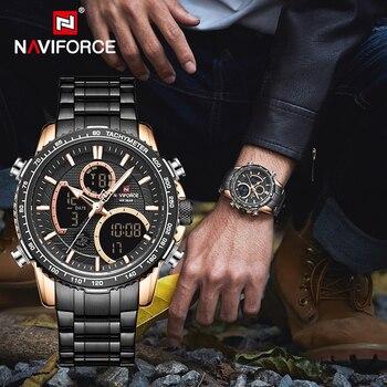 NAVIFORCE Men Watch Luxury Brand Digital Sports Watches Mens Quartz Wristwatch Male Luminous Waterproof Clock Relogio Masculino - discount item  90% OFF Men's Watches