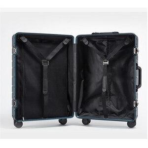 """Image 4 - Carrylove 100% alüminyum el bagaj 20 """"24"""" 28 """"spinner metal büyük sert arabası bavul tekerlekli"""