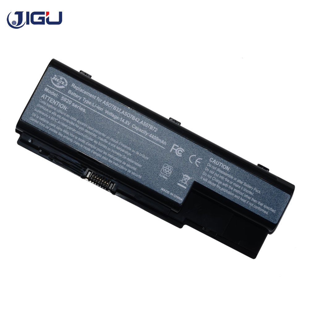 JIGU Laptop Battery For acer Aspire 7735 7735Z 7736Z 7738G 7738 8530 8730 8730G 8730Z 8735G 8920 8935 8935G 8940G 8942G image