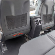 1 шт. накладка на заднее сиденье автомобиля с защитой от удара подушка на заднее сиденье с защитой от грязи подушка для Toyota camry chr corolla rav4 yaris ...