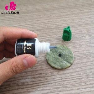 Image 5 - Free Shipping Private Label 10 bottles/lot IB Ultra super Glue Eyelash Extensions glue Green Cap 5ml Wholesale Order Korea Made
