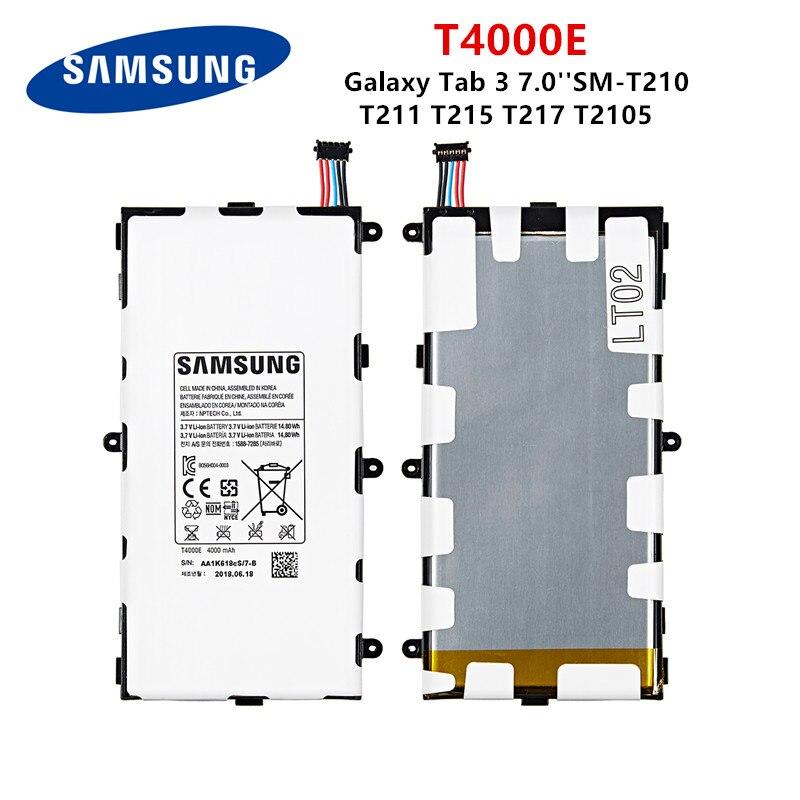 4000MAH Battery T4000C For Samsung GALAXY Tab 3 7.0 T210 T211 T210R T217A P3210