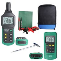 Portable Professional Wire Cable Tracker Metal Pipe Locator Detector Tester Line Tracker Voltage 12~400V MS6818