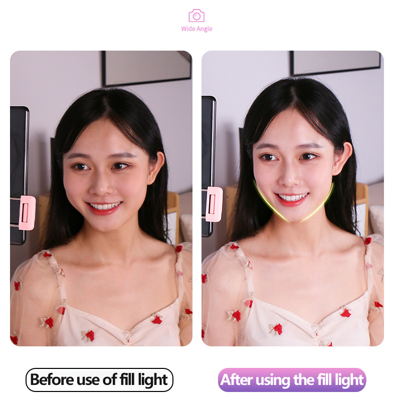 cheapest 10cm 26cm Selfie Ring Light Youtube Video Live Photography Dimmable LED Photo Studio Light Tripod For iPhone Xiaomi Canon Nikon
