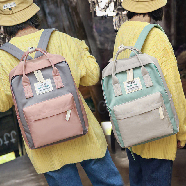 Multifunction Women Backpack Fashion Youth Large Shoulder Bag Laptop Rucksack Schoolbags for Teenager Girls Boys Travel Bagpack 1