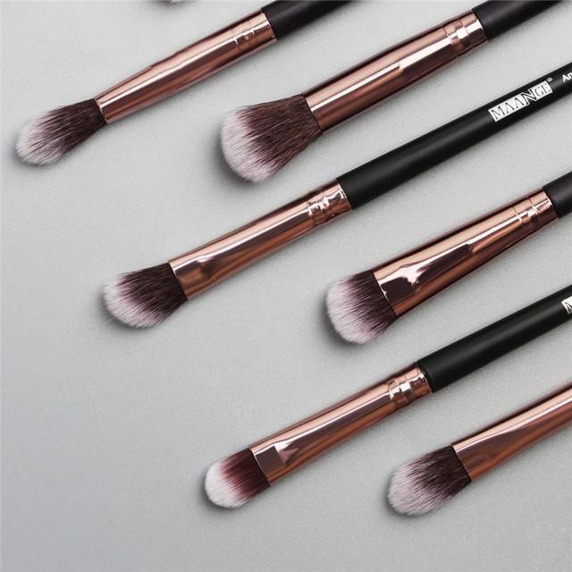 12PCS Luxury Makeup Brushes Set Professional Make up Brush Blusher Eyeshadow Blending Eyeliner Eyebrow Brush For Makeup Tool 3