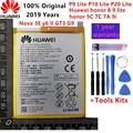2019 Оригинал 3000 мАч HB366481ECW для Huawei p9/p9 lite/honor 8/p10 lite/p8 lite 2017/p20 lite/p9lite аккумулятор + инструмент
