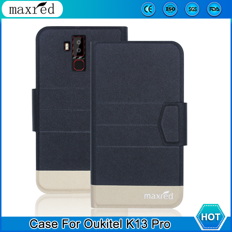 5 Colors! <font><b>Oukitel</b></font> <font><b>K13</b></font> <font><b>Pro</b></font> <font><b>Case</b></font> 2020 High Quality Flip Ultra-thin Luxury Leather Protective <font><b>Case</b></font> For <font><b>Oukitel</b></font> <font><b>K13</b></font> <font><b>Pro</b></font> Cover Phone image