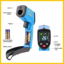 Инфракрасный термометр, Benetech Бесконтактный Ручной цифровой термометр пирометр лазерный цветной дисплей ИК термометр-50~ 400℃