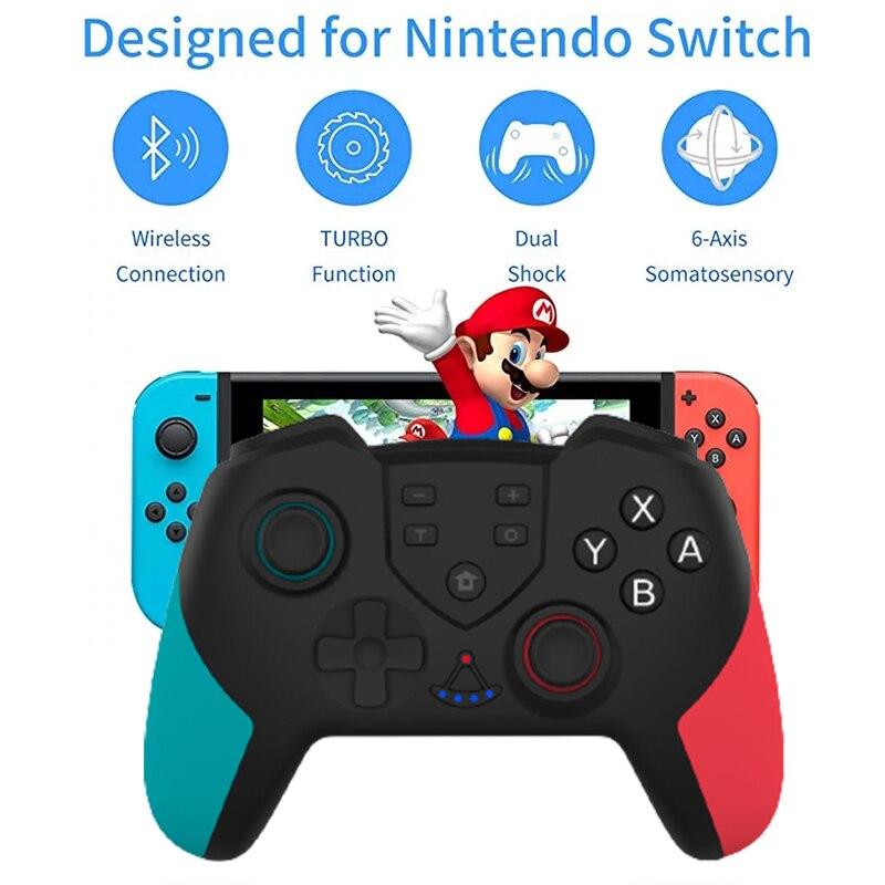 New Wireless Joystick For NS Switch Pro Controller Switch Remote Gamepad RegeMoudal Wireless Controller For Nintendo Switch Game