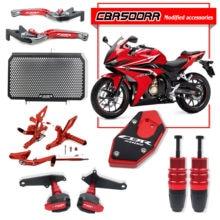 Dla HONDA CBR500R CBR 500R motocykl osłona ochronna silnika kratka chłodnicy pokrywa spadająca ochrona suwak wydechowy