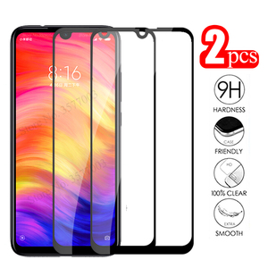 2pcs protective glass redmi note 7 3D cover screen protector For xiaomi redmi 7a tempered Glas xaomi redmi7a redmi7 safety Film