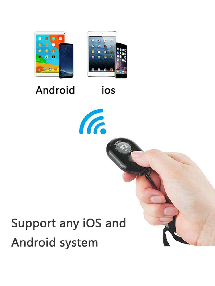 Smart-Phone-Camera Shutter Remote-Control FGCLSY Bluetooth Android Wireless for IOS