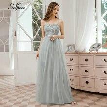 Элегантное серое платье Макси женское ТРАПЕЦИЕВИДНОЕ ПЛАТЬЕ