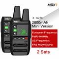"""KSUN 1 или 2 шт. X-GZ20 FRS UHF462-467MHz PMR 446 МГц охоты Ham Радио безлицензионных РАДИОТЕЛЕФОНА Walkie Talkie """"иди и двухстороннее радио USB Зарядное устройство"""