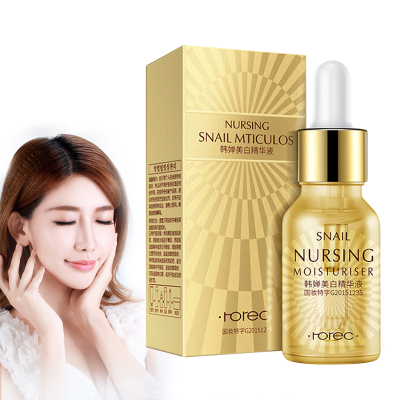 Snail Essence Serum Face Whitening Cream Serum Liquid Whitening And Hydrating Antioxidant Anti-aging Anti Wrinkle Cream TSLM1