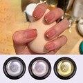 Металл для дизайна ногтей популярный клей фототерапия клей Золотой Серебряный Матовый зеркальный стойкий Водонепроницаемый 8 цветов на вы...