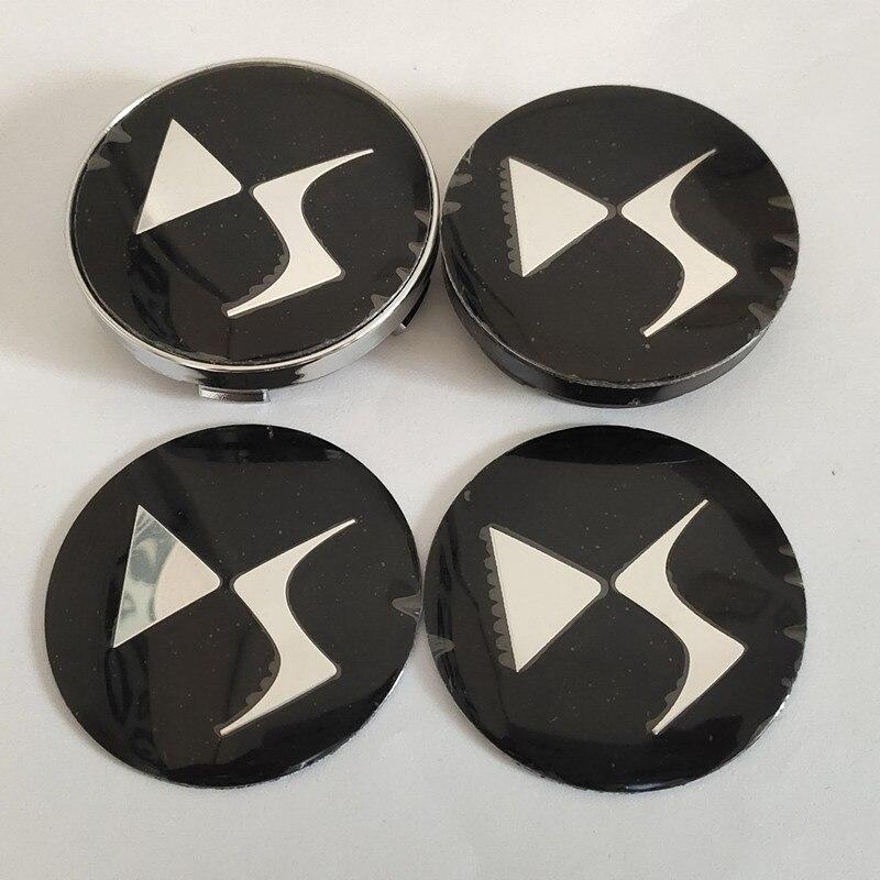 4 шт. 56 мм 60 мм DS DS3 DS5 DS6 Deesse PSA Центральная втулка колеса автомобиля крышка значка Чехлы эмблема наклейка автомобиль Стайлинг Аксессуары