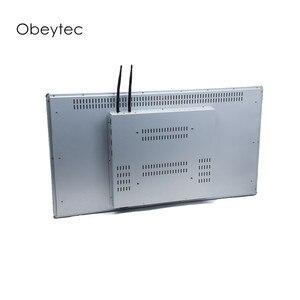 13.3 polegada para sistema pos tudo em um, 1920*1080, 300cd/m2 tela de toque capacitivo, solução intel 4 + 64g, OB-TPCI-133