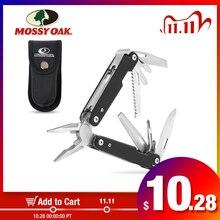 Многофункциональный инструмент MOSSY OAK 12 в 1, плоскогубцы, резак для проводов, многофункциональные инструменты, инструмент для выживания, кемпинга, рыбалки