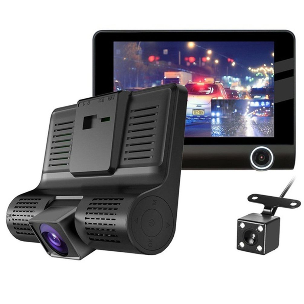 Universal Car Dvr Cameras Lens Dash Camera Dual Lens With/without Rearview Camera Video Recorder Dvrs Dash Cam
