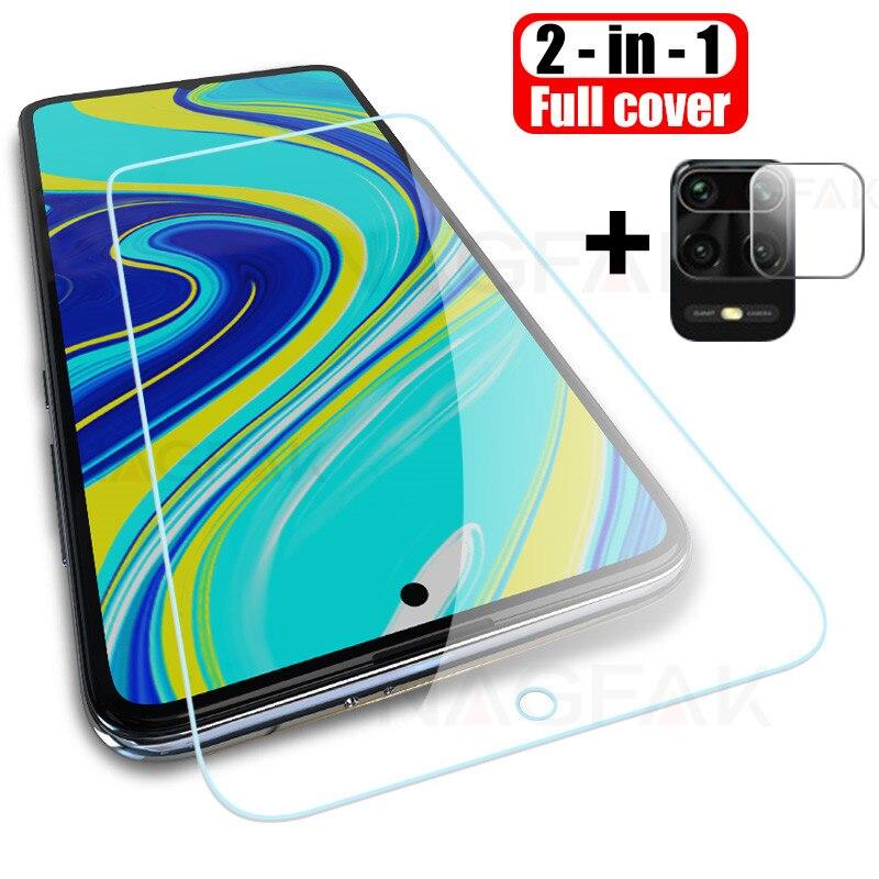 Tempered glass for xiaomi redmi note 8 pro screen protector camera lens glass redmi note 7 9 K30 pro max protector redmi 7A 8A(China)