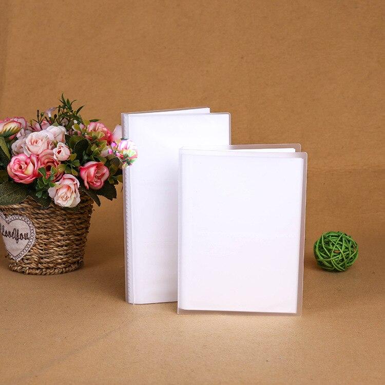 56 84 кармана прозрачный чехол Мини Фотоальбом для 3 дюймов 4 дюйма мгновенная пленка Polaroid Fuji Instax Mini film 7s 8 25 50s