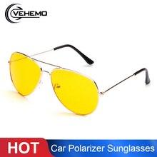 Vehemo Hot Sale Car Drivers Night Vision Goggles Anti-Glares