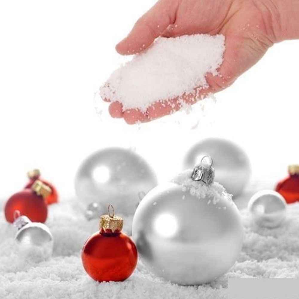 Nhân Tạo Hoa Tuyết Giả Magic Liền Giả Lông Tuyết Siêu Absorbant Lễ Hội Giáng Sinh Trang Trí Lễ Cưới Tuyết Nhân Tạo @ 2