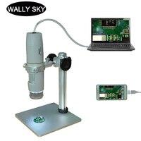 500X Digital Microscope 5.0MP USB Electronic Microscope Digital Video Camera Polarizing Microscope for Semiconductor Testing