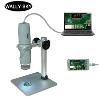 500X Digital Microscope 5.0MP USB Electronic Microscope Digital Video Camera Polarizing Microscope for Semiconductor Testing