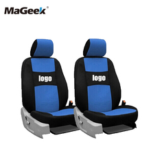 цена на 2 front seat Universal Car Seat Covers For Suzuki Jimny Grand Vitara Kizashi Swift Alto SX4 Wagon R Palette BLACKcar ACCESSORIES