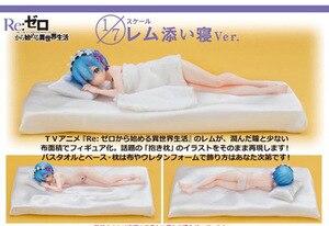 Image 4 - יפני אנימה חיים בעולם אחר מאפס Rem שינה סקסי ילדה PVC פעולה איור צעצועי 22cm אוסף דגם בובה חדש
