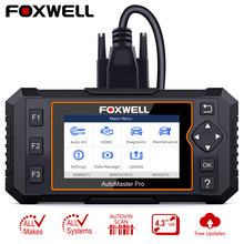Автомобильный сканер foxwell nt624 elite obd2 eobd считыватель