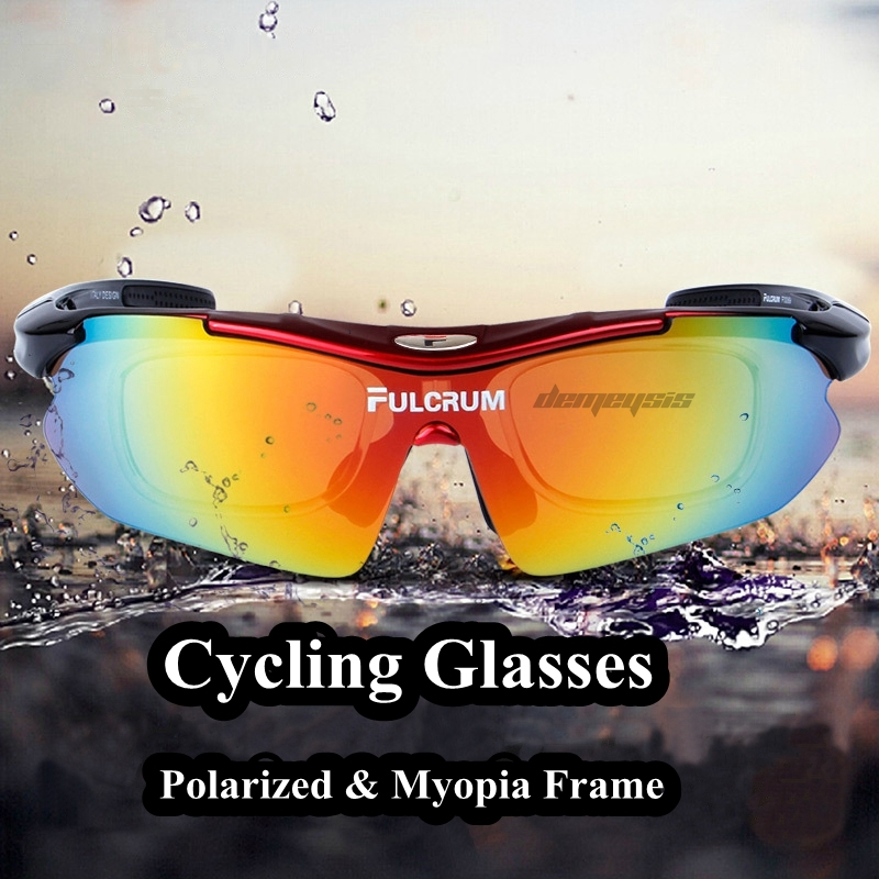 Polarized Outdoor Sports Sunglasses Camping Cycling Hiking Goggles Sun Glasses