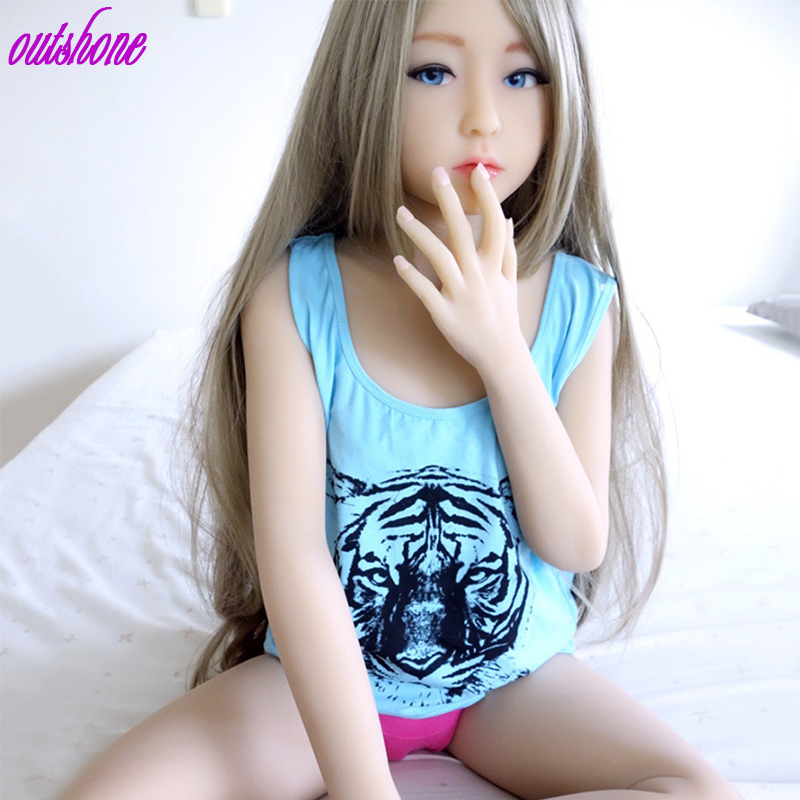 Free Shipping 128cm Anime Sex Doll Mini Hot Nuded Sex Beautiful Girl Doll For Men