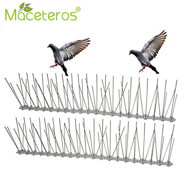 1-12M Hot Selling Plastic Bird And Pigeon Spikes Anti Bird Anti Pigeon Spike Pest Control Bird Repellent Garden Supplies(China)