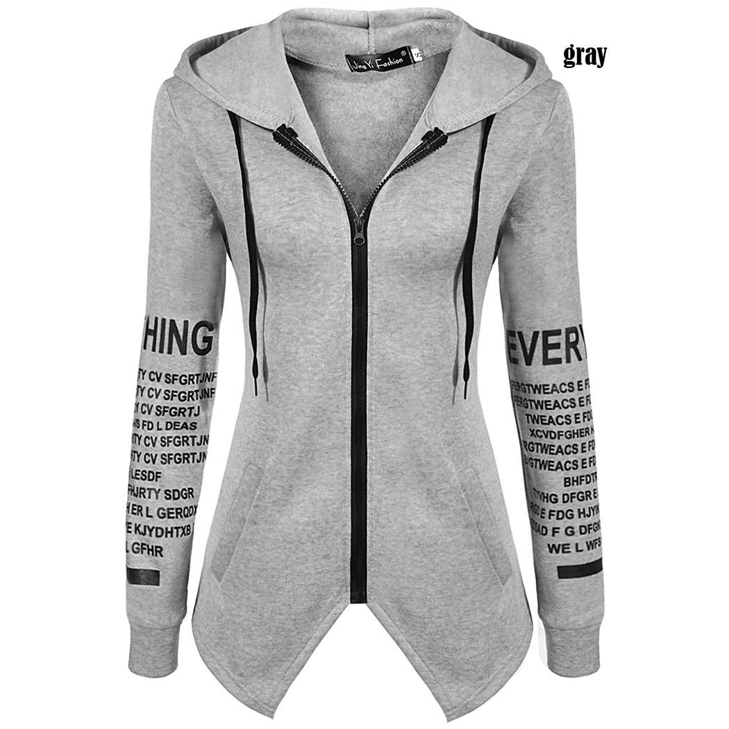 Soft Letter Printed Hoodie for Women 9