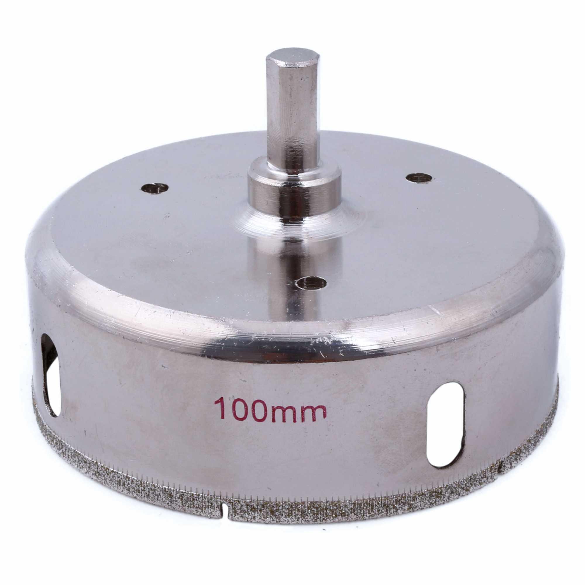 Glass Marble Ceramic Cutting Tool Diamond Hole Saw Drill Bits Set Dia.95mm