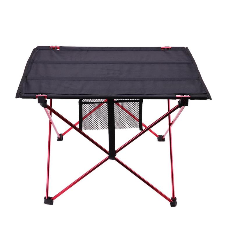 Image 2 - Portable Foldable Table Camping Outdoor Furniture Computer Bed Tables Picnic Aluminium Alloy Travelling Camping Folding Desk-in Outdoor Tables from Furniture
