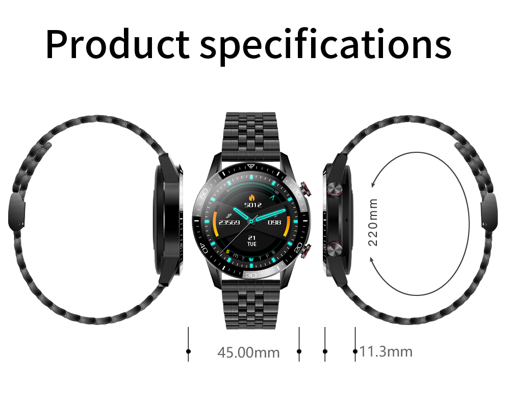 H5644b0a25fc1415aaceec083742e21523 New Smart Watch Men Bluetooth Call TK2-8 IP68 Waterproof Heart Rate Blood Pressure SmartWatch Fitness Tracker Sports Android IOS