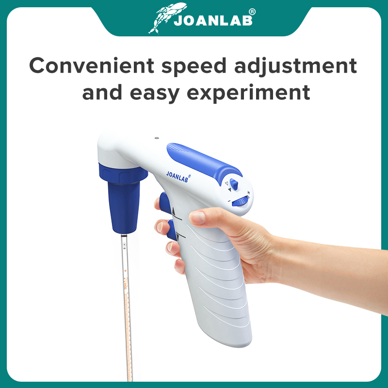 JOANLAB Electric Pipette Controller Large Volume Automatic Pipette Laboratory Equipment Electronic Pipette Pump 110v To 220v 2