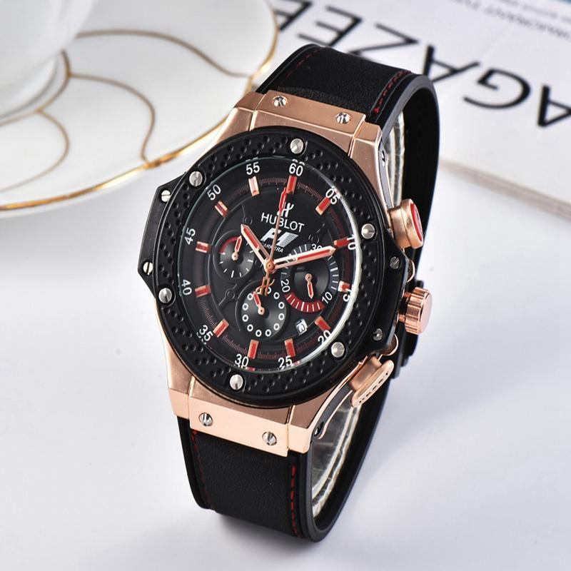 NEW Luxury Brand Mechanical Wristwatch Mens Watches Quartz Watch With Stainless Steel Strap Relojes Hombre Automatic 48