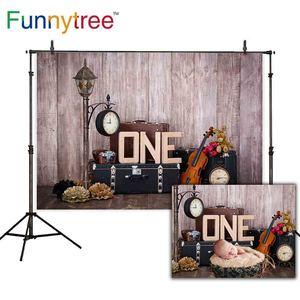 Image 1 - Funnytree backgrounds for photo studio wood wallpaper cake smash 1st birthdy photozone children photography backdrop  photocall