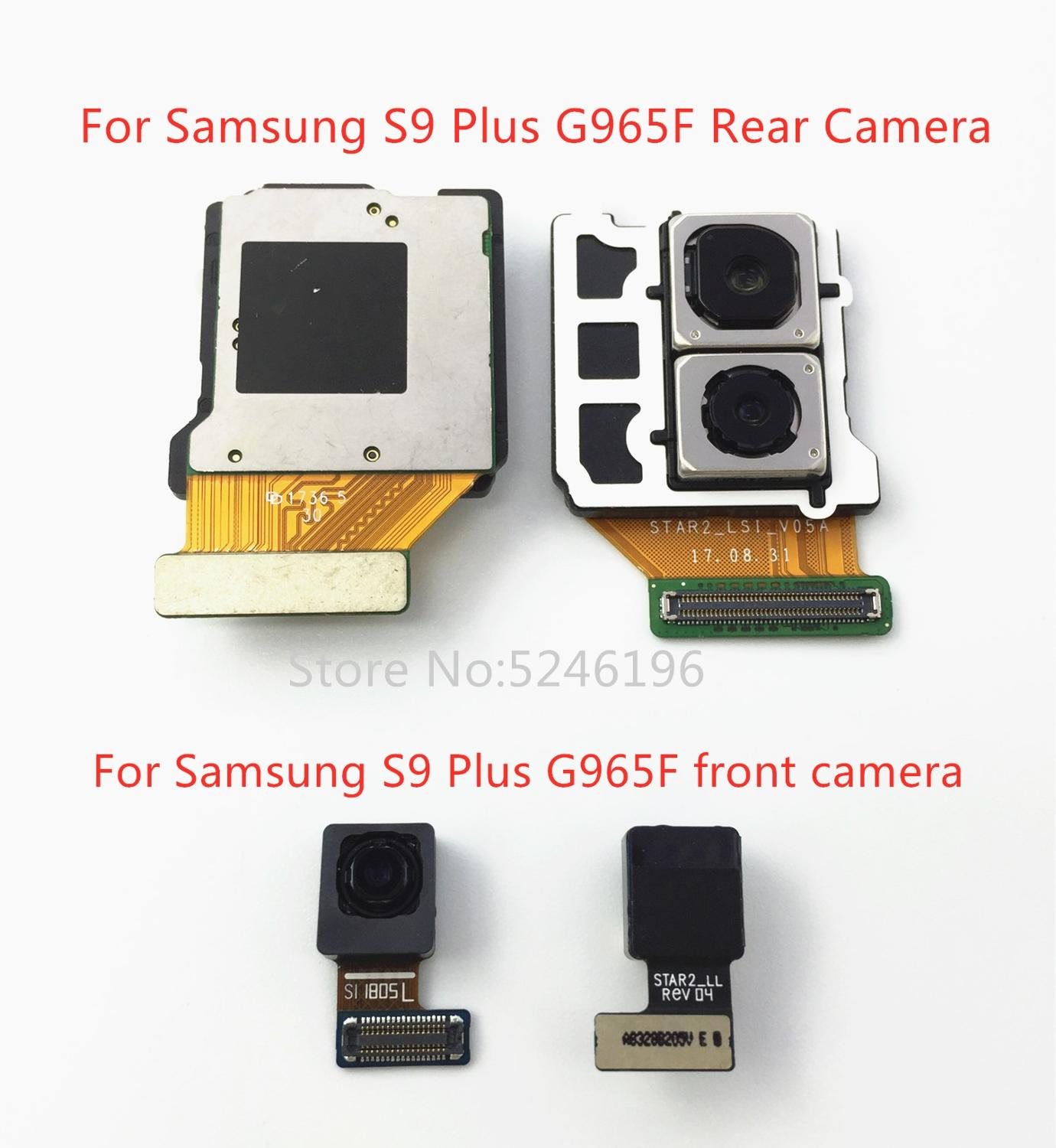 Back Big Main Rear Camera Front Camera Module Flex Cable For Samsung Galaxy S9 Plus G965F G965FD Main Flex Cable Replace Part