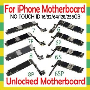 Image 2 - OS 시스템 포함 iphone 4S 5 5C 5S SE 6 6Plus 6S 6sPlus 7 7Plus 8 8Plus 마더 보드 없음 터치 ID 없음 원래 잠금 해제 플레이트