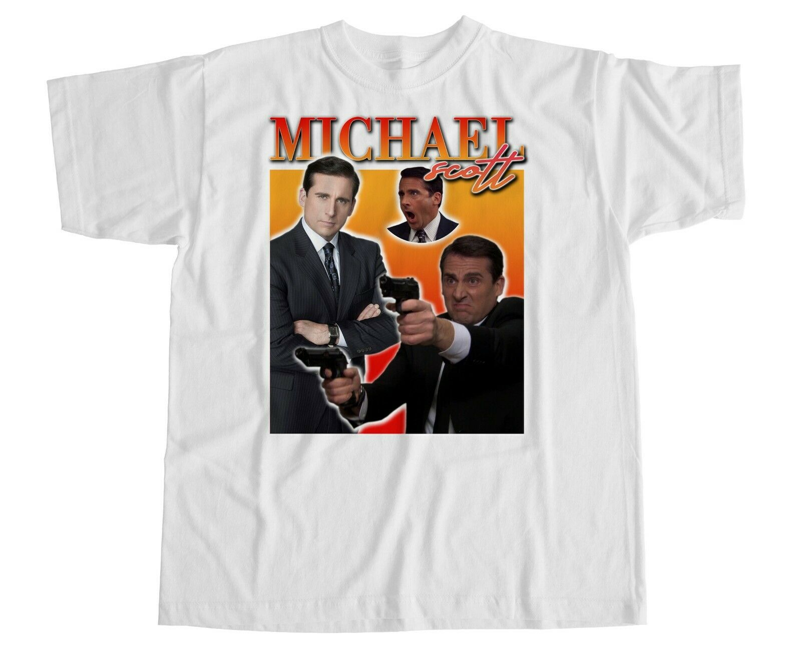 Michael Scott T Shirt Homage I Am Dead Inside Office TV Series Dwight Schrute
