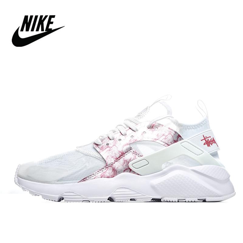 STUSSY-Nike-Air-Huarache-Run-Premium-4th-generation-Wallace-retro-Women-s-running-shoes-Size-36